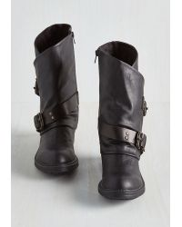 Blowfish Llc - Tricks Of The Travel Boot In Black - Lyst