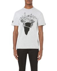Crooks and Castles - Warped Tour Medusa Cotton-jersey T-shirt - Lyst