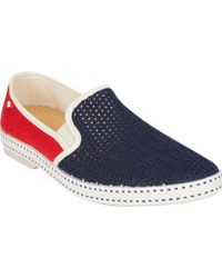 Rivieras France Slipon Sneakers - Lyst