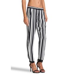 Ella Moss - Annika Striped Pants - Lyst