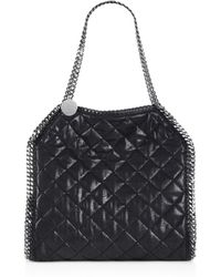 Stella McCartney Baby Bella Quilted Shoulder Bag - Lyst