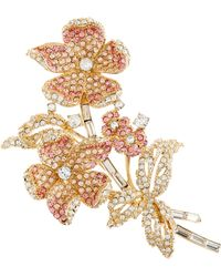 Brooks Brothers - Ombre Flower Brooch - Lyst