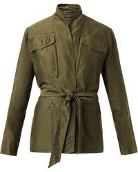 Isabel Marant John Multipocket Cotton Jacket - Lyst