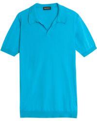 John Smedley Sea Island Polo Shirt - Lyst