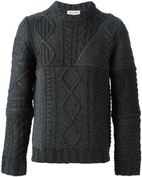 Paul & Joe Cable Knit Sweater - Lyst