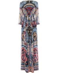 Temperley London Long Merida Dress - Lyst