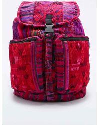 Stela 9 - Santiago Patchwork Backpack In Pink - Lyst