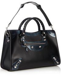 Balenciaga Classic City Giant Leather Shoulder Bag - Lyst