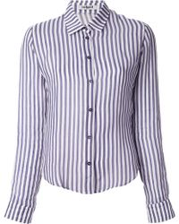 Cacharel Striped Shirt - Lyst