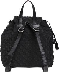 V73 - Embroidered Quilted Nylon Backpack - Lyst