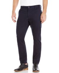 Dockers Navy Alpha Skinny Tapered Pants - Lyst