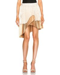 Zimmermann Tarot Fan Wrap Mini Skirt - Lyst