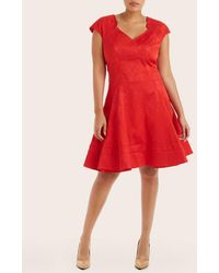 Zac Posen - Fit And Flare Party Dress - Lyst