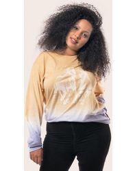 Baja East - Tie Dye Long Sleeve T-shirt - Lyst