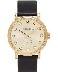Marc Jacobs - Baker Dexter Gold Tone Watch - Lyst