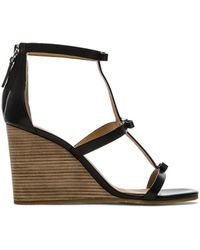 Marc By Marc Jacobs Calf Wedge Sandal - Lyst
