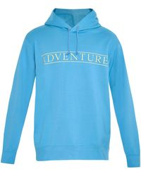Undercover Adventure-Print Hooded Sweatshirt - Lyst