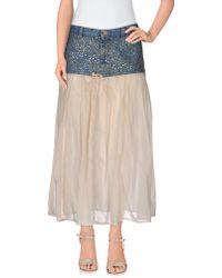 Pence - 3/4 Length Skirt - Lyst