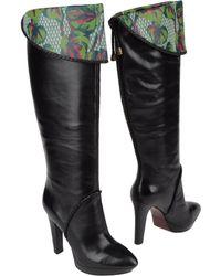 Kenzo High-Heeled Boots - Lyst