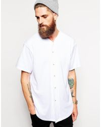 American Apparel Jersey Baseball T-shirt - Lyst