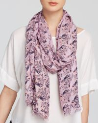 Bindya On A Whim Leopard Pop Ombré Scarf - Lyst