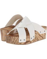 Proenza Schouler Studded Flatform Sandal - Lyst