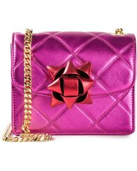 Marc Jacobs Mini 'Metallic Party Bow Trouble' Crossbody Bag - Lyst