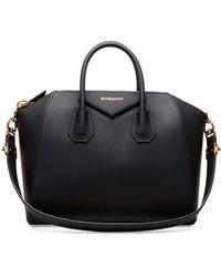 Givenchy Antigona Rubber-effect Medium Satchel Bag - Lyst