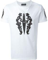 Cesare Paciotti   'Dagger' T-Shirt   Lyst