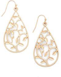 Ana Accessories Inc | Vines On The Veranda Earrings | Lyst