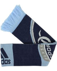 Adidas Sporting Kansas City Striped Scarf - Lyst