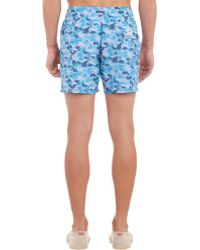 Limoland - Camo Swim Trunks - Lyst