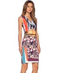 Clover Canyon - Chrome Divide Dress - Lyst