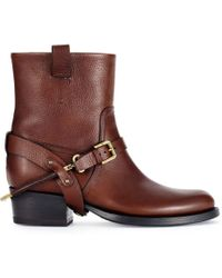 Ralph Lauren Collection Vachetta Isara Boot - Lyst