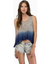 Tobi Dawn Light Tank Top - Lyst