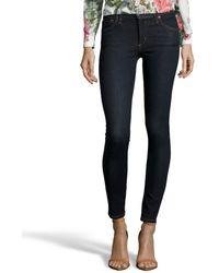 James Jeans Orion Stretch Denim 'James Twiggy' Skinny Jeans blue - Lyst