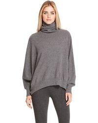DKNY Drop Shoulder Turtleneck Pullover - Lyst