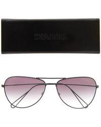Isabel Marant X Oliver Peoples Aviator-Style Sunglasses black - Lyst