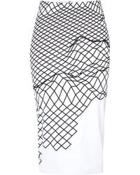 Dion Lee Organza Cycle Skirt - Lyst