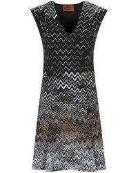Missoni Zig Zag Fit and Flare Dress - Lyst