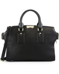 Burberry | Gainsborough Medium Leather Satchel | Lyst