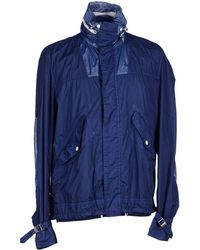 Moncler Jacket blue - Lyst