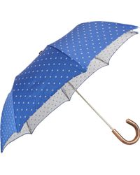 Barneys New York Blue Floral Umbrella - Lyst
