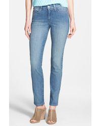 Nydj 'Sheri' Stretch Skinny Jeans - Lyst