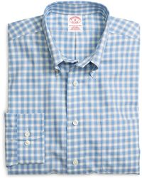 Brooks Brothers Non-Iron Madison Fit Twin Check Sport Shirt - Lyst