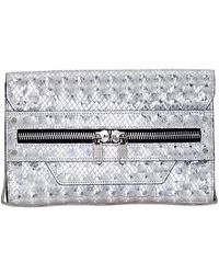 Milly Bowery Hologram Clutch - Lyst