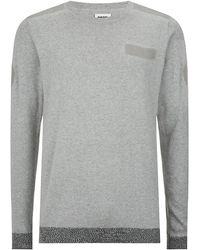 Diesel Gray Kane Sweater - Lyst