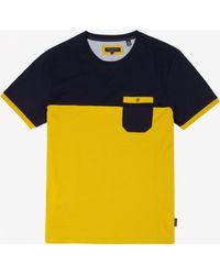 Ted Baker Colour Block T-Shirt - Lyst