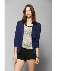 Sparkle & Fade - Ponte Knit Blazer - Lyst