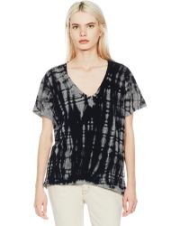 Current/Elliott The V-Neck black - Lyst